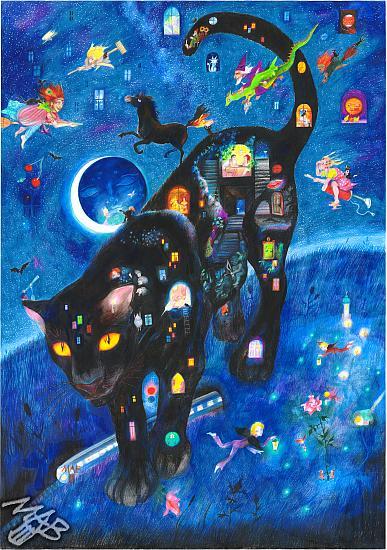 Černý panter noci