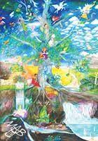 Velkoformátový obraz: Letokruh stromu života