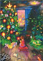 Obraz: Vánoční stromek očima dětí