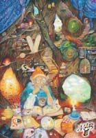 Obraz kreslený pastelkou: Kniha života