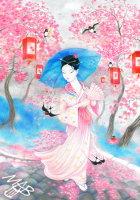 0braz kreslený pastelkami: Princezna Sakura